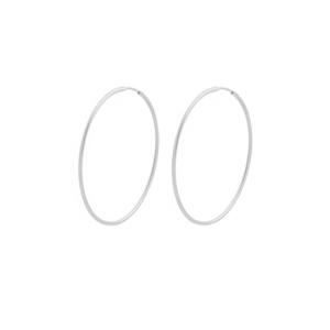 Brinco Argola 5 cm Prata 925