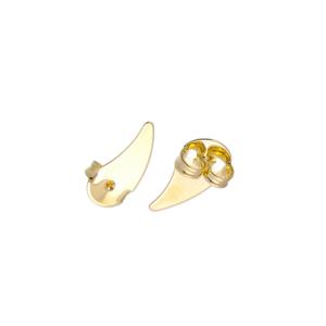 Ear Cuff Cristais Banho Ouro 18k
