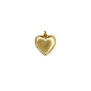 Pingente Mini Coração Ouro
