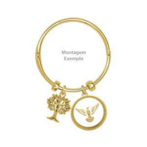 Bracelete cor Ouro