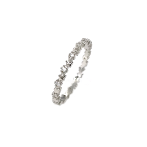 Anel Mini Estrelas Prata 925