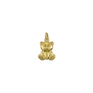 Pingente Urso Cor Ouro